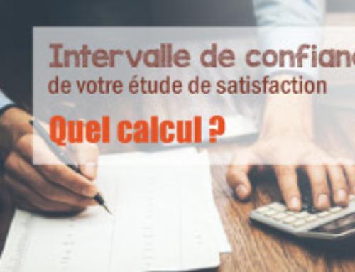Calculer l'intervalle de confiance de votre étude